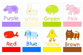 Designed specifically for young children, a great way to introduce basic colours. Print And Make Colors Flashcards Color Flashcards Preschool Colors Color Worksheets For Preschool