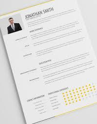 Simple Resume Template Vol 1