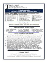 Professional Management Resume