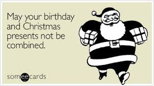 Birthday Christmas Presents Gifts Birthday Ecard