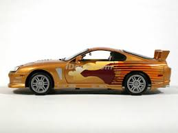 toyota supra fast and furious 2. 1993 toyota supra diecast model car fast and furious 2 f