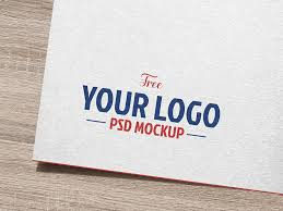 Logo Mock Up Free Natural White Paper Logo Logotype Mockup Psd By Good Mockups