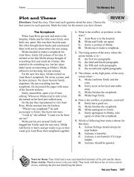 Plot and Theme: The Memory Box Worksheet for 4th - 5th Grade ...