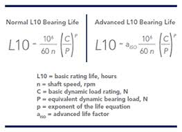 Bearing Damage Chart What Is L10 Life Rexnord