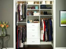 small closet storage ideas clean white shoes shelves and drawers used in small closet organization ideas