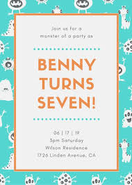 invitation for a party kids party invitation templates canva