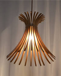 ... Brown Wooden Clearance Pendant Lighting Hardwood Minimalist Simple  Contemporary Curtain Plastic Decorations ...