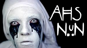 halloween makeup tutorial american horror story makeup tutorial halloween makeup tutorial american horror story makeup tutorial asylum nun and diy costume