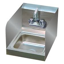 Advance Tabco 7 Ps 23 Ec Sp 12 X 16 Hand Sink With Splash