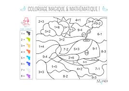 Coloriage Magique Et Math Matique La Baleine Momes Net