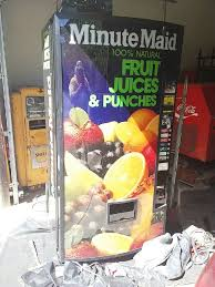 Minute Maid Vending Machine Awesome Used Minute Maid Vending Machine For Sale In Rome Letgo