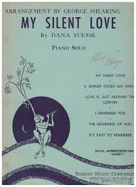 Tredwellsmusic My Silent Love Dana Suesse Arr George Interesting Silent Love Pic