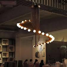 diy pipe light fixture copper