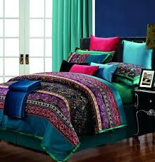 Jewel Tone Comforter Sets Bedroom Duvet Cover King Covers Earth 27 11
