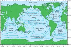 ocean current maps  ocean blue project