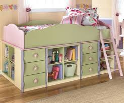 furniture for girls room. ashley furniture doll house loft bed with built in dresser and kids beds for girls room r