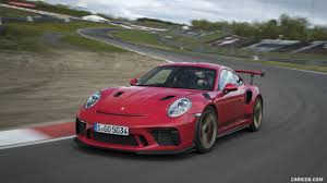 We have 83+ background pictures for you! 2019 Porsche 911 Gt3 Rs Color Guards Red Front Three Quarter Hd Wallpaper 167