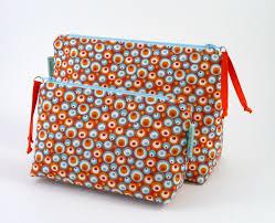 colourful orange makeup bag zipper bag cosmetic bag makeup organiser makeup brush storage wash bag gifts for women bridesmaid gift