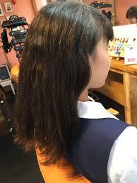中学生に縮毛矯正してもいいんですか 秦野美容室 縮毛矯正と髪質改善