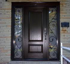 wrought iron front doorsWood and Iron Front Doors  More Modest Iron Front Doors  Design