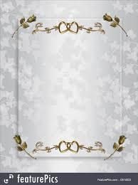 wedding invitation elegant satin royalty free stock ilration