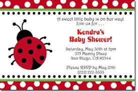 Shower Invitations  Lady Bug Diaper InvitationsFree Printable Ladybug Baby Shower Invitations