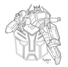 Transformers Printable Coloring Pages Transformer Coloring Pages