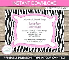 free sleepover invitation templates unique free printable sleepover invitation templates or a slumber