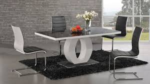 beautiful wood and glass design dining table modern kitchen tables