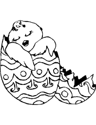 Easter Chick Coloring Pages Print – Happy Easter 2017
