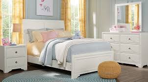 full size bedroom sets white. White 5 Pc Full Size Bedroom Sets For Girl (price: $724.99)