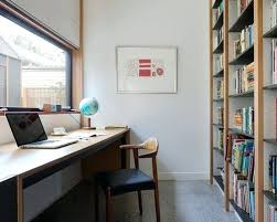 Inspiring home office contemporary Office Design Ideas Contemporary Home Office Inspiration For Contemporary Study Room In With White Walls Concrete Floors And Amazing Home Decor Wallpaper And Inspiration Contemporary Home Office Inspiration For Contemporary Study Room
