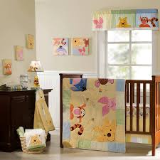 awesome king pooh premier 7 piece crib bedding set lovely baby disney crib sets