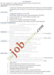 Typical Laboratory Manager Resume Sample Laboratory Skills Resumes