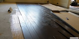 Impressive Installing Wood Floors How To Install An Engineered With How  Install Laminate Wood Flooring