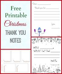 3 Free Printable Thank You Notes For Kids Note And Holiday Card