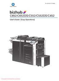 From this web site you can download drivers, utilities, and manuals for epson point of sales products such as tm printers (tm series), customer displays (dm series), pos terminals (im/ir/sr/mr series), and embedded unit printers (eu/ba series).please click how to. Konica Minolta Bizhub C652 User Manual Pdf Download Manualslib