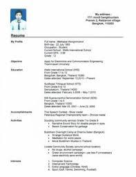 No Work Experience Resume Example 4210 Best Resume Job Images Best Resume Resume Tips Cv Template