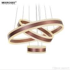 modern 3 circle rings led pendant lights for living room dining room luminaire suspendu led re rose gold pendant lamp hanging luminaire multi pendant