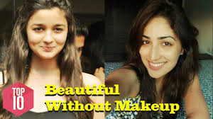 10 bollywood actresses who look best without makeup