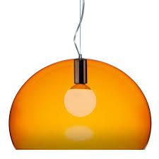 ferruccio laviani lighting. Kartell - Ferruccio Laviani FLY Suspension Light Orange Lighting