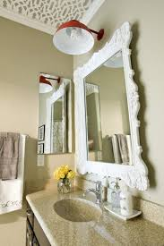 Bathroom Decorative Bathroom Mirror With Lights How To Make