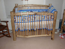 rustic crib furniture. Unique Rustic Hand Crafted Log Baby Crib Krshomefurnishings Furniture U
