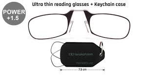 Lenskart Toric Chart Thinoptics Reading Glasses With Keychain
