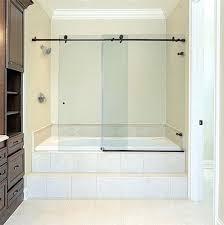 metro sliding bathtub doors glass oil rubbed bronze shower door