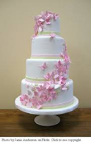 8 Flowers And Butterfly Design On Cakes Photo Butterfly Cake
