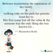 Family First Quotes Classy Between Maintaining The R Quotes Writings By Manmohan Rathi