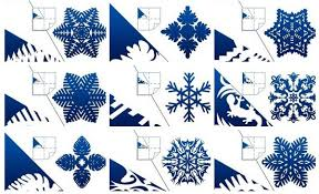 Snowflake Patterns Impressive DIY Pretty Kirigami Snowflakes Free Template