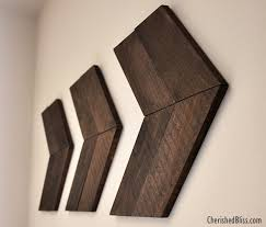 diy wooden arrow creative wood wall art ideas you can do on weekends