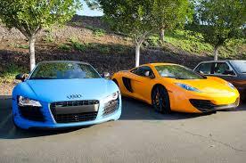 mclaren mp4 12c matte black. filematte blue audi r8 and orange mclaren mp412c 8666058275jpg mclaren mp4 12c matte black